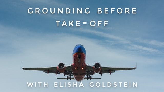 Grounding Before Take-Off: Elisha Goldstein