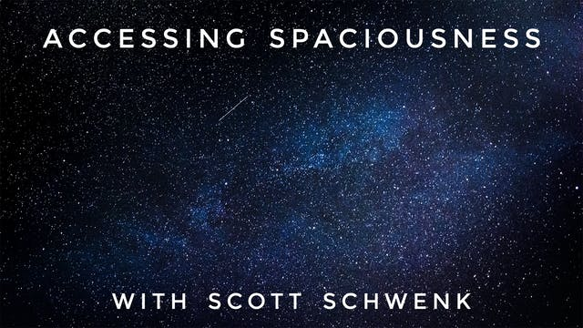 Accessing Spaciousness: Scott Schwenk