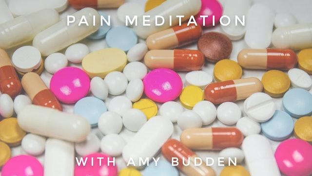 Pain Meditation: Amy Budden
