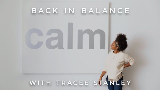 Back In Balance: Tracee Stanley