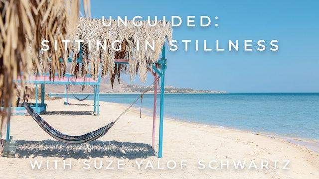 Unguided: Sitting in Stillness: Suze Yalof Schwartz