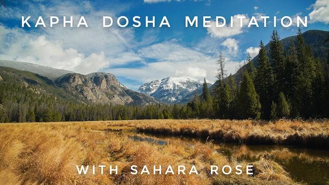 Kapha Dosha Meditation: Sahara Rose