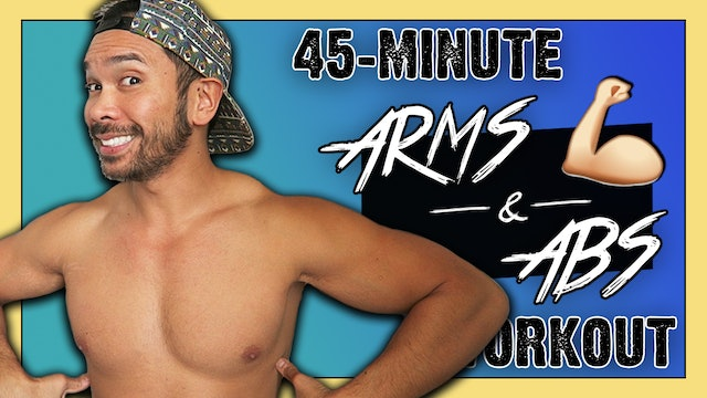 [ MASHUP ] 45-Minute Arms + Abs Sculpting and Toning Workout