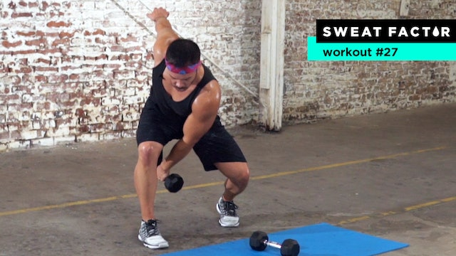 60-Minute Full Body Dumbbell HIIT Workout