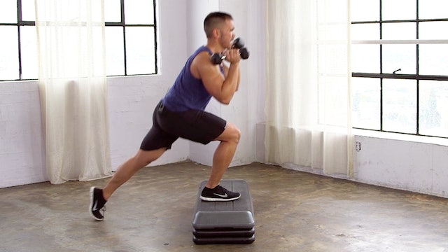 10 Minute Full Body Step HIIT Workout
