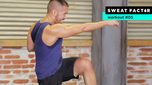 35-Minute HIIT Bodyweight SweatFest