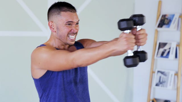 10-Minute Total Body Dumbbell HIIT