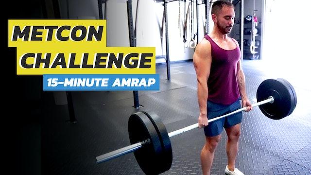 15-Minute Full Body AMRAP Routine