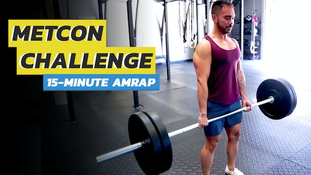 15-Minute Full Body AMRAP Routine