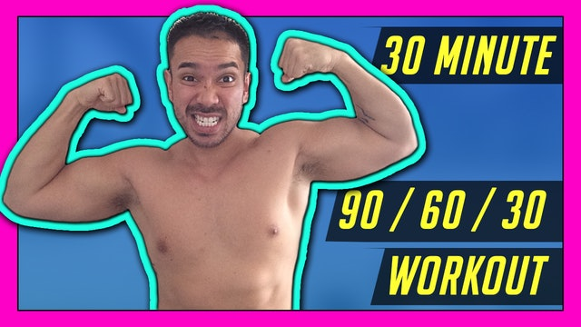 [ MASHUP ] 30-Minute Metabolism Boosting HIIT Workout