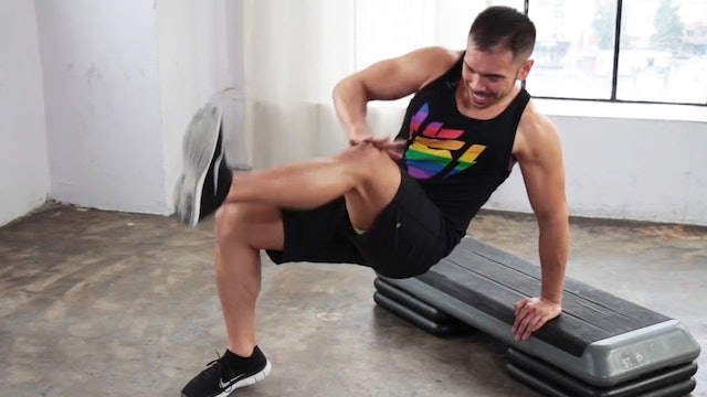 10 Minute Full Body HIIT Step Workout