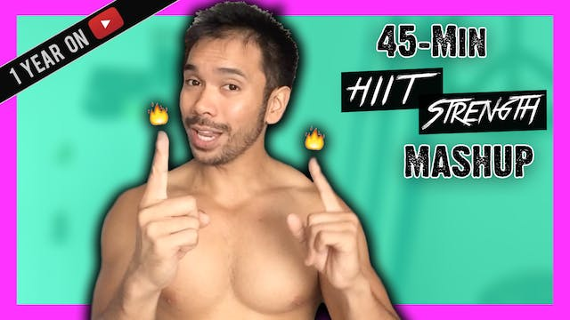 [ MASHUP ] 45-Minute HIIT Strength Wo...