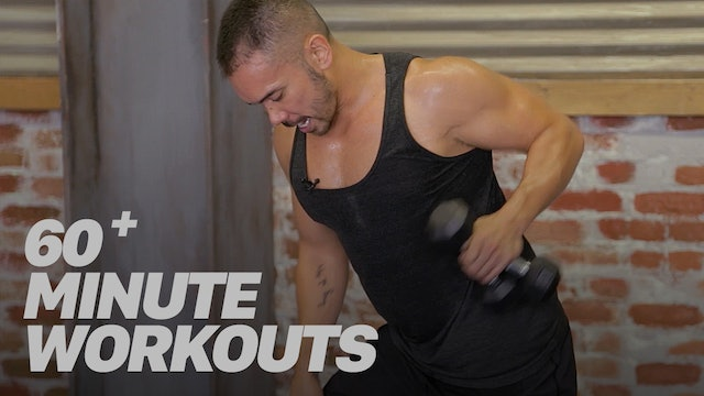 60+ Minute Workouts