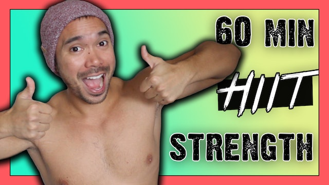 [ MASHUP ] 60-Minute BRUTAL HIIT Workout w/ Dumbbells