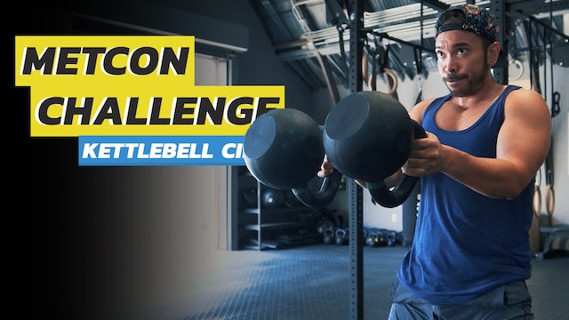 4-Exercise Full Body Double Kettlebell Workout Routine
