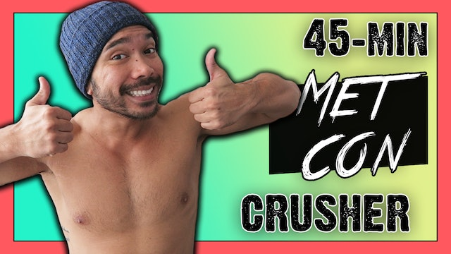 [ MASHUP ] 45 Minute MetaShred HIIT Workout