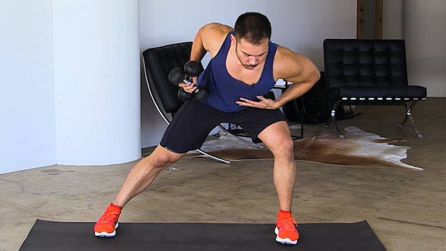 10-Minute Dumbbell HIIT Strength Workout