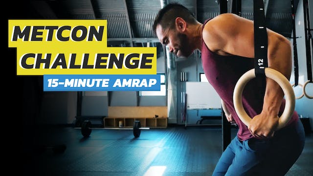 15-Minute Full Body AMRAP Workout