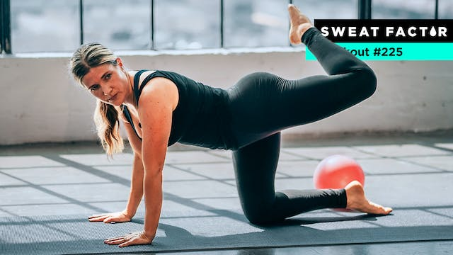 20-Minute Lower Body Barre Burn
