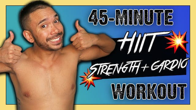 [ MASHUP ] 45-Minute HIIT Strength & ...