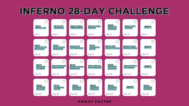 INFERNO 28-DAY CALENDAR