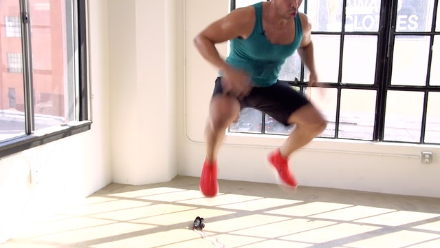 20 Minute KILLER Jump Rope HIIT Cardio Strength Interval Workout