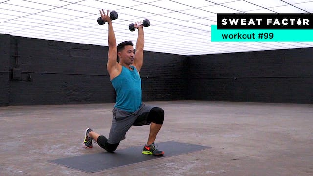 30-Minute Total Body Shred Routine