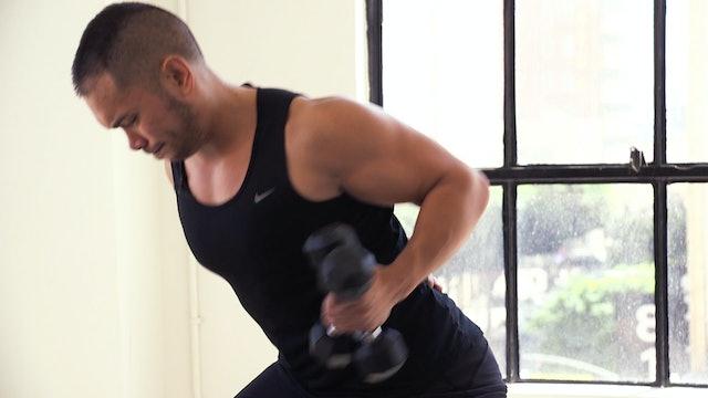 10 Minute Back Fat Workout :: Bye Bye Back Fat
