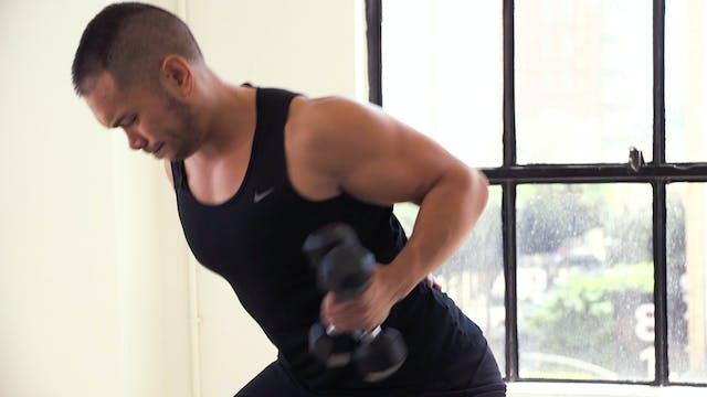 10 Minute Back Fat Workout :: Bye Bye...