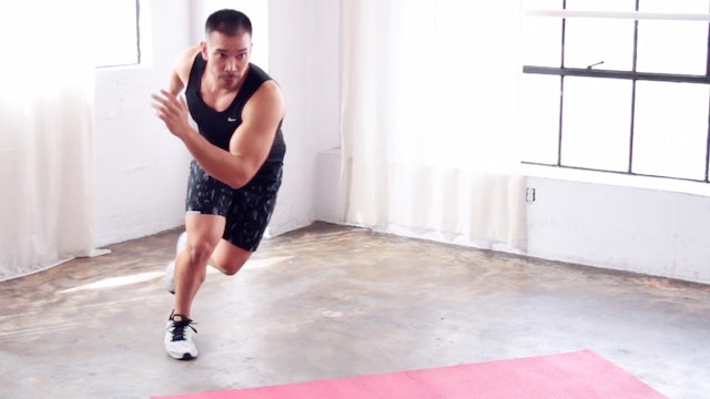 10 Min Fat Burning HIIT Workout - Bodyweight HIIT Cardio Blast