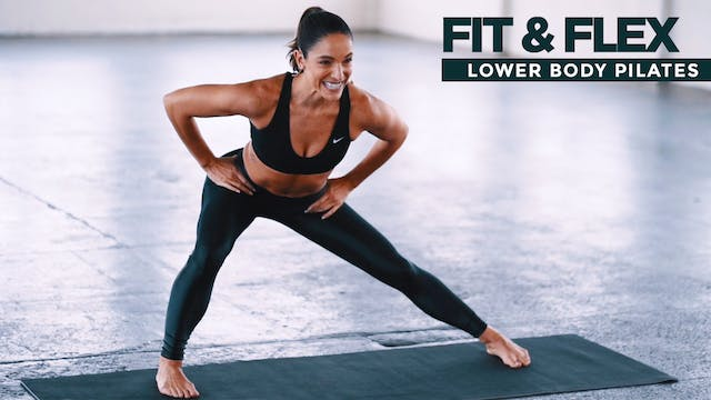 Fit & Flex: Lower Body Pilates