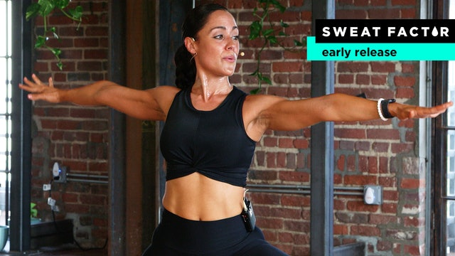 20-Minute Yoga Sculpt & Burn