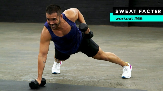 30-Minute Hardcore HIIT Dumbbell Workout