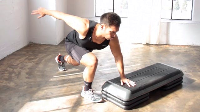 10 Minute Athletic Cardio Fat Step Wo...