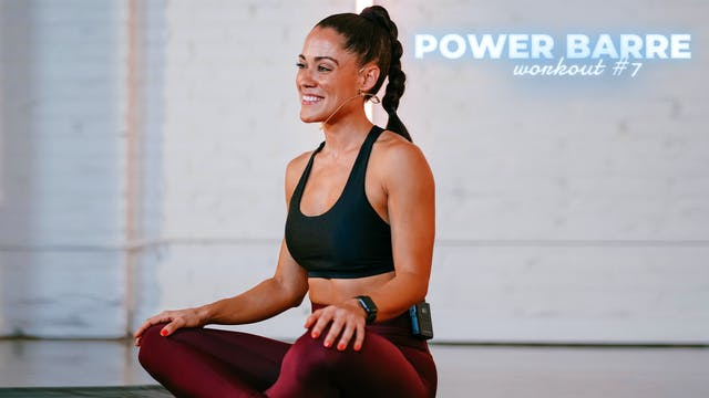 POWER BARRE: Stretch & Recover