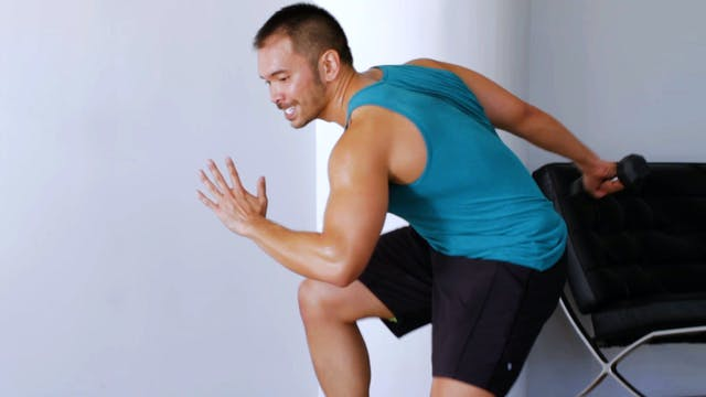 10-Minute Total Body HIIT Dumbbell Me...