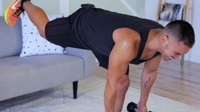 10-Minute Lower Body Workout with Weights
