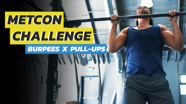 Death by Burpees & Pull-Ups