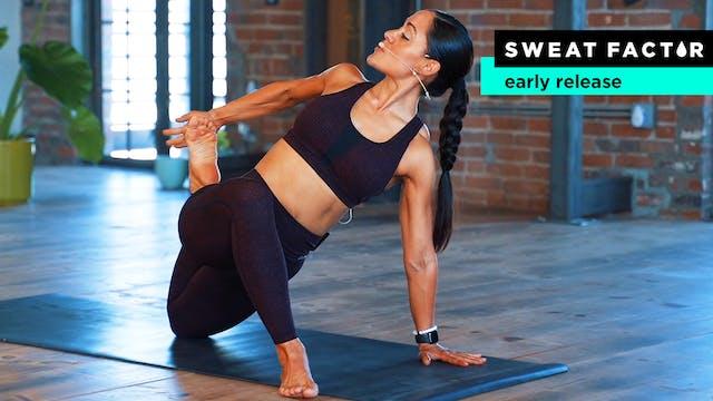 10-Minute Hip Focused Yoga Stretch