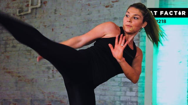 30-Minute Turbo Cardio Kickboxing