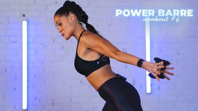 POWER BARRE: Upper Body Burnout