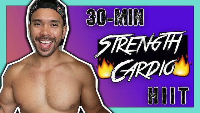 [ MASHUP ] 30-Minute Metabolic HIIT Strength + Cardio Workout