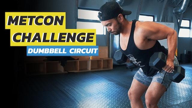 3-Exercise Full Body Dumbbell Circuit Training Workout