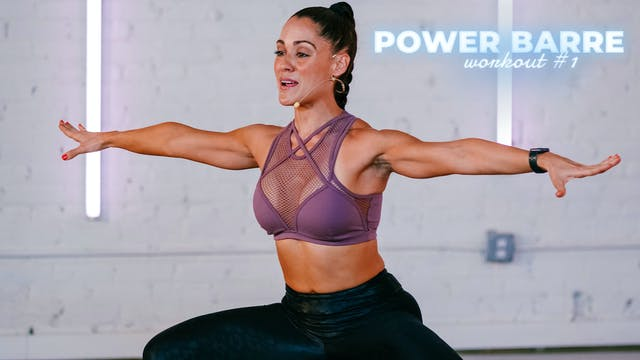 POWER BARRE: Barre Bootcamp