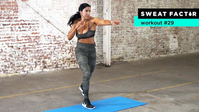 30-Minute Cardio Kickboxing & Core