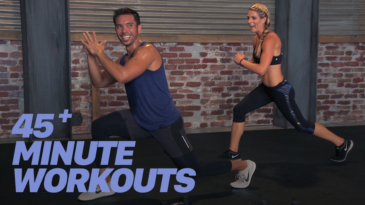 45+ Minute Workouts