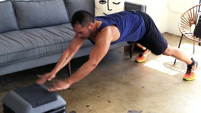 15-Minute Hardcore HIIT Bench Blaster...