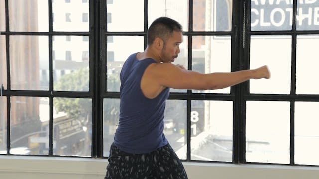 10 Minute Cardio Tai Box Workout