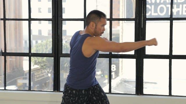 10 Minute Cardio Tai Box Workout
