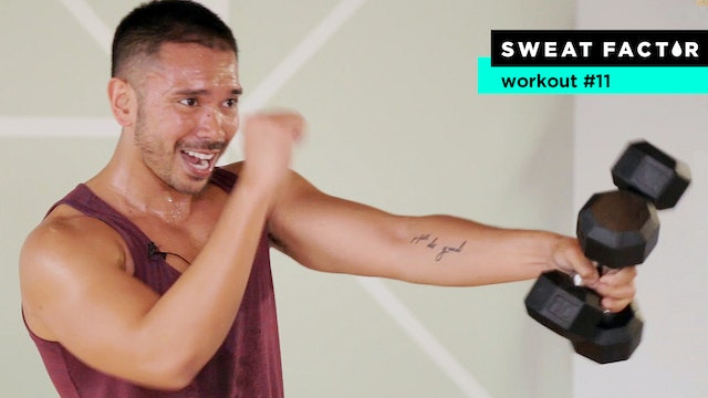 35-Minute Extreme HIIT Dumbbell Bootcamp